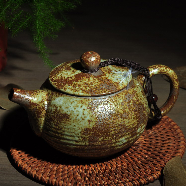 Retro Ceramic Teapot Antique Kungfu Tea Pot High Grade