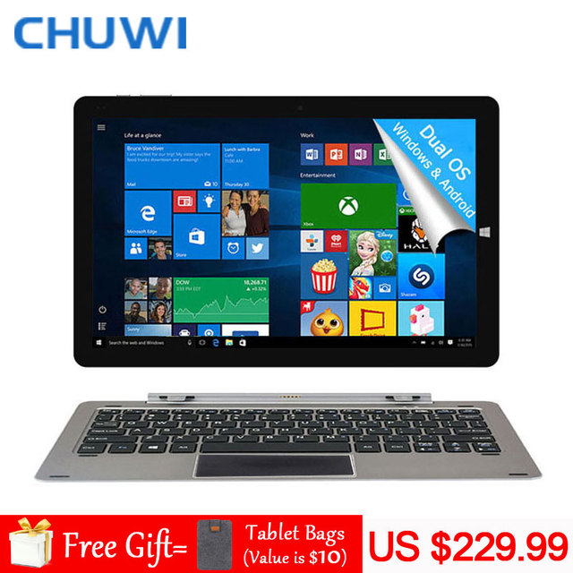 CHUWI Official! 12 Inch CHUWI Hi12 Tablet PC Intel Atom Z8350 Windows10 Android 5.1 Dual OS 4GB RAM 64GB ROM 2160×1440 11000mAh