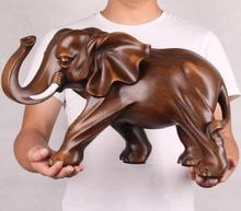 Miniature Garden Decoration Resin Elephant Figurine Home Statue Crafts Office Living Room Feng Shui Elephant Decor Ornaments golden brass charging stock market bull figurine wall street bull ox statue feng shui scuplture home office decor