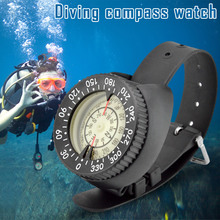 Outdoor Compass Professional Diving Waterproof Navigator Digital Watch Scuba for Swimming Underwater