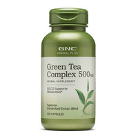 Free Shipping Green Tea Complex 500 mg supports metabolism 100 pcs