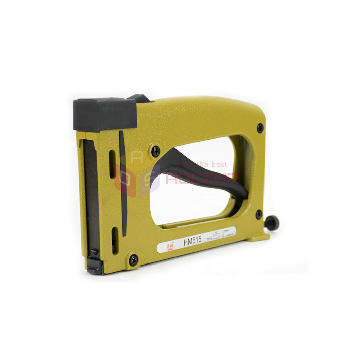 Manual Patch Nail Staple Gun HM515 Fixed Picture Photo Backplane Frame Tool Finishing Nailer Stapler Nailer Frame Tacker