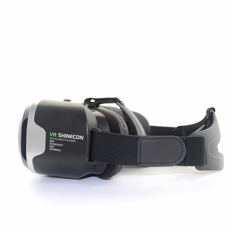 Shinecon 2.0 VR Pro Version Virtual Reality 3D Glasses Headset Google Cardboard BOX 3.0 Movie Game For 4.7-6 inch Phone + Remote 7