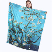 Hottest Shawls Scarf Luxury Brand Wraps Women Winter Cashmere Scarf Flowers And Fine Horse Print 130cm