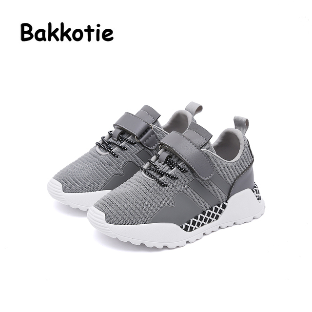 Bakkotie 2018 New Spring Baby Boy Fashion Leisure Shoe Child Loop Girl  Casual Breathable Sport Sneaker Kid Brand Trainer Toddler bdb2c2ec3e4c