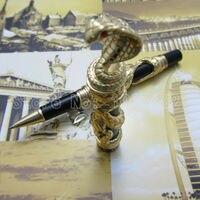 jin hao pen upscale beautiful Gold snake roller pen nib Gift pen