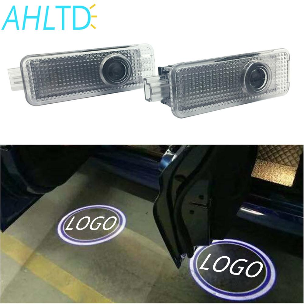 2X Auto Welcome Light Door Led Projection Lamp Laser For BMW E90 E91 E92 E93 M3 E60 E61 F10 F07 M5 E63 E64 F12 Buld Voltage 12V(China)