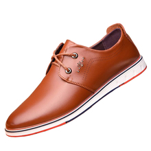 Mens  new summer leisure Korean hollow leather all-match breathable cool British male tide hole shoes