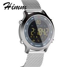 Новый EX18 Смарт-часы Для мужчин спортивные часы 5ATM Водонепроницаемый Шагомер Bluetooth 4.0 вызова SMS напоминание для iOS и Android