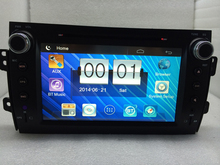 "8"" Car Radio 2 Din Car DVD Player GPS Navigation in Dash Car PC Stereo Head Unit for suzuki sx4 2006-2012 Car Audio Player"