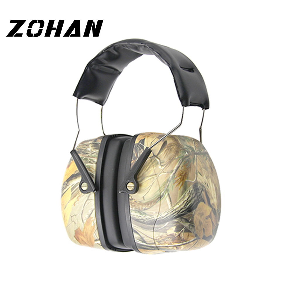 ZOHAN Noise Reduction Safety Ear Muffs NRR 35dB Shooters Hearing Protection Earmuffs Adjustable Shooting Ear Protection