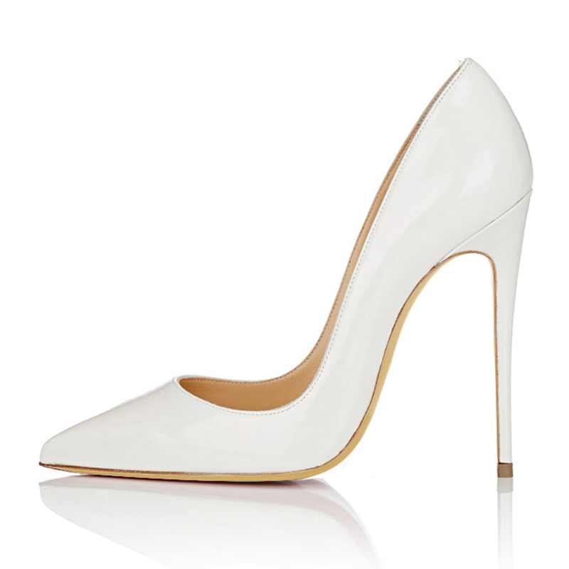 2018 Shoes Woman High Heels Wedding Shoes Black Nude Women Pumps Pointed Toe Sexy High Heels Shoes Stilettos Party Shoes in Women 39 s Pumps from Shoes
