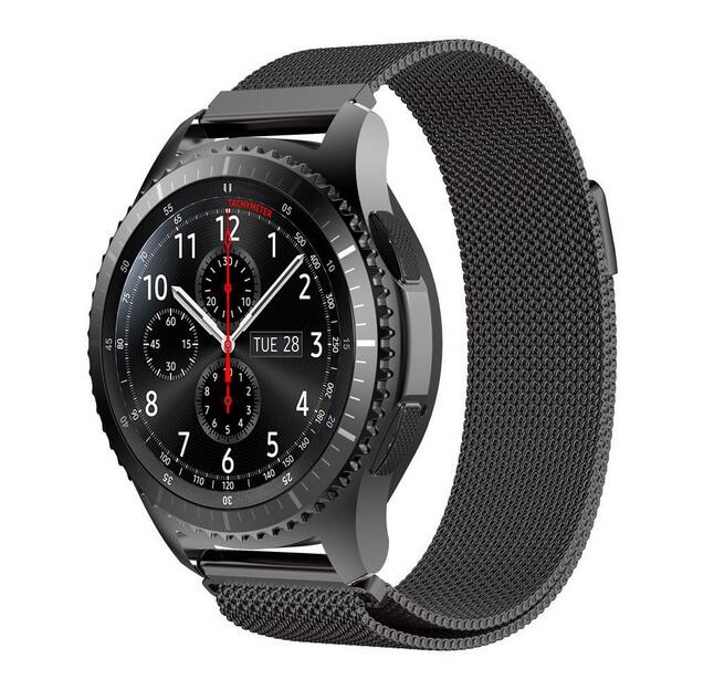 18 20 22mm strap For Samsung Gear sport s2 S3 S4 huawei watch 2 1 classic huami amazfit 1 2 lite pebble time metal Band наушники samsung galaxy s5 s4 s3 3 2 s4 ace ej 10