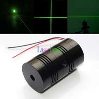 40mm Diameter Housing 100mW 150 200mW 532nm Green Dot Line Cross Laser Diode Module with Glass Lens
