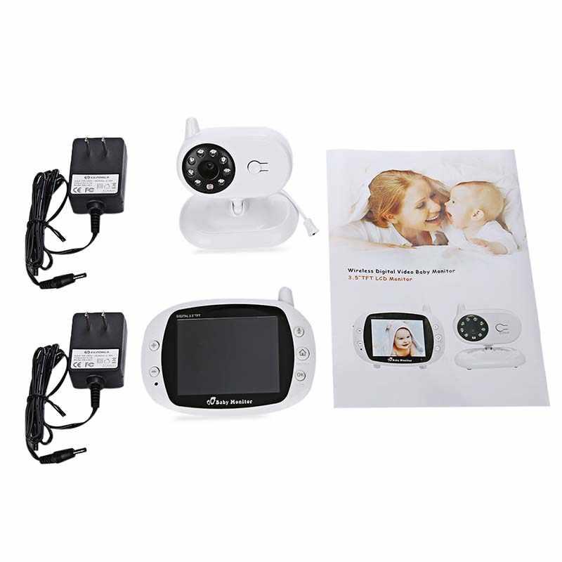 3,5 дюймов беспроводной TFT lcd Видео монитор младенца с ночным видением TFT монитор младенца сна детская камера цифровая видео Няня няня