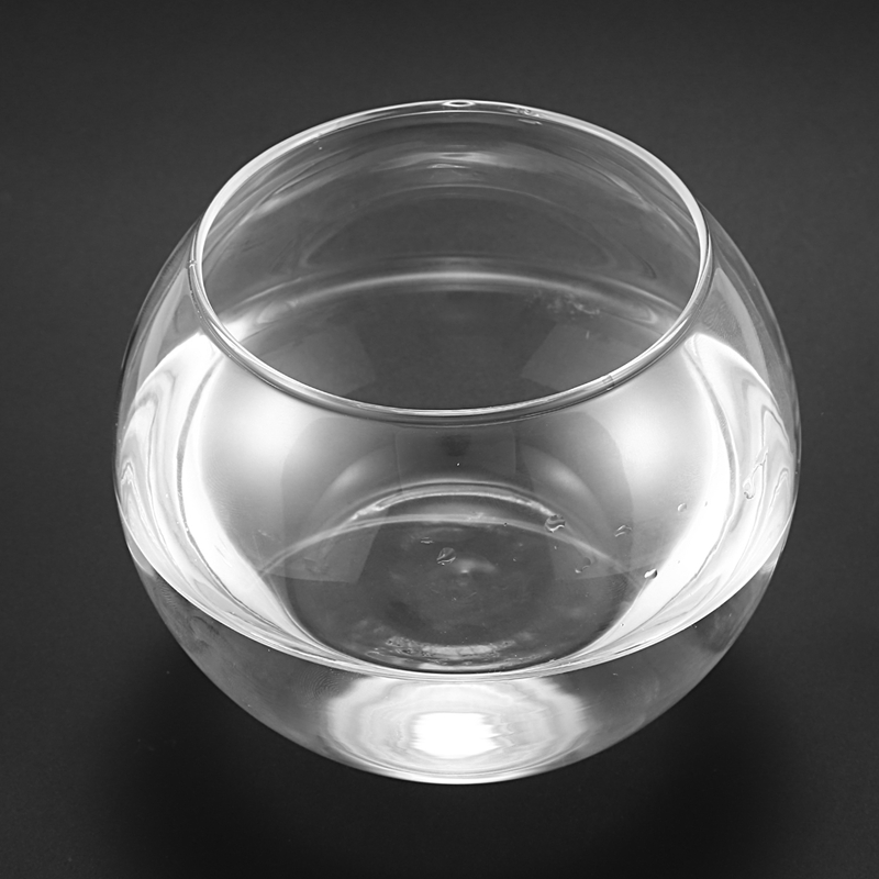 Round Sphere Vase in Transparent Glass Fish Tank image