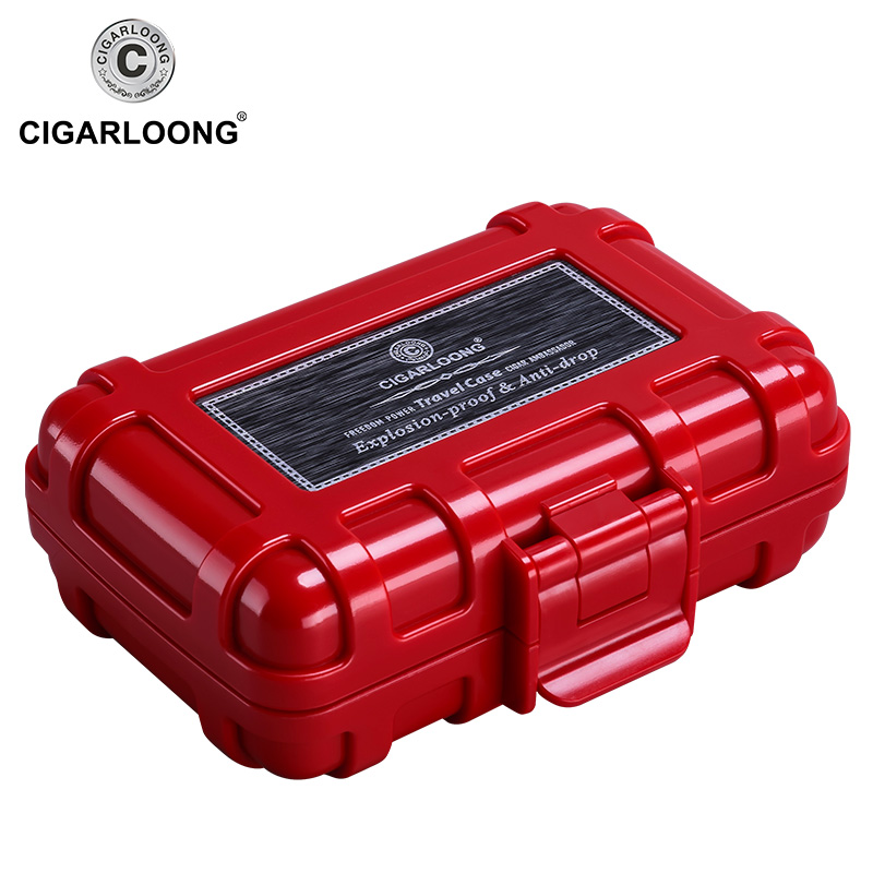 Cigar Tool Box Multi-functional For Cigar Lighter Cigar Cutter Travel Portable Box (only Case)CA-0017