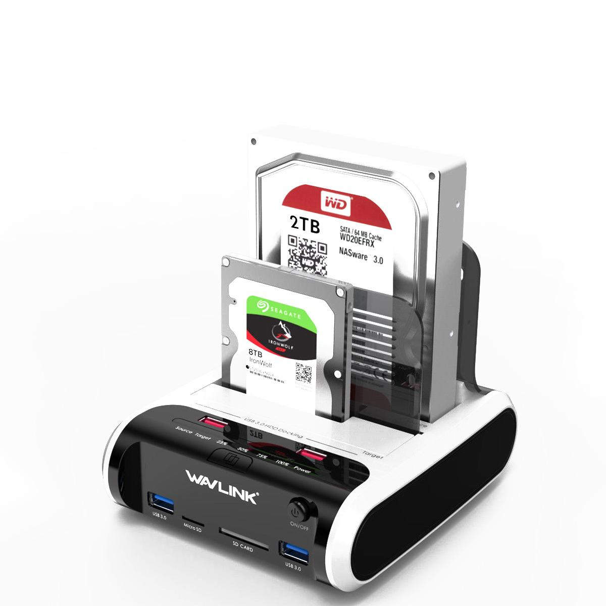 Station d'accueil USB 3.0 SATA HDD pour boîtier de disque dur SATA HDD 2.5