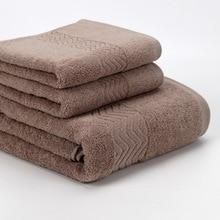 3pcs/set Luxury Face Towel 100% Cotton 33*74cm*1pc 34*34cm*1pc and bath towel 70*140cm 1pc Super Soft Towel Terry Absorbent 1pc 6ed1053 1fg00 0ba0