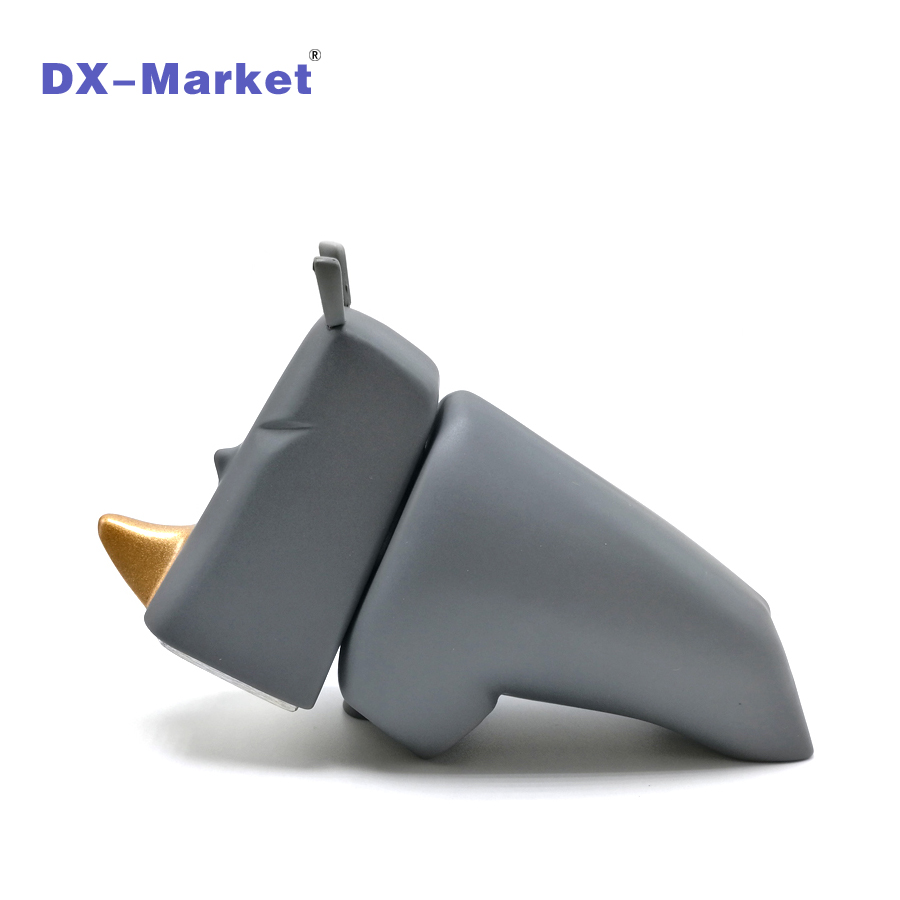 GRAY Rhino Hammer , Household hammer tools , DIY Hardware gifts , High quality Desk ornaments ru