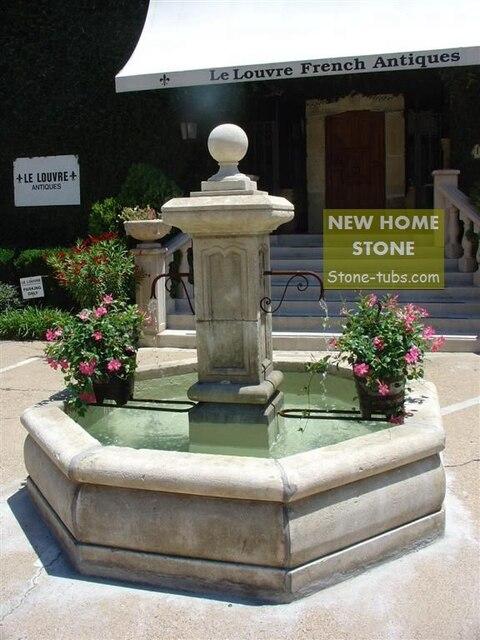 pequeo fuentes de agua para el hogar moderna plaza de piedra de mrmol fuente con triambus