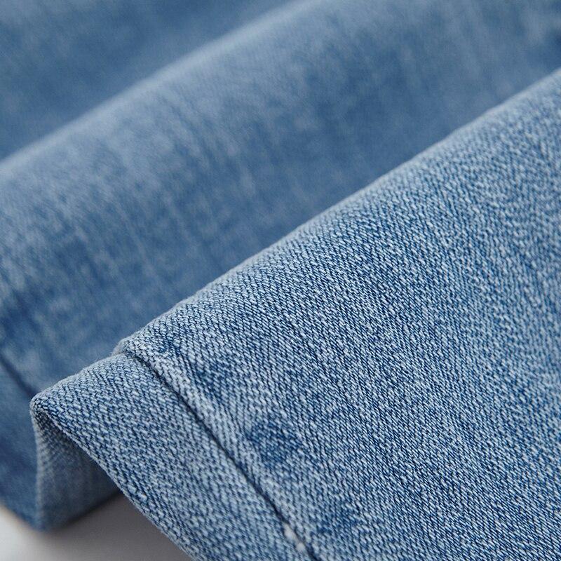 3c12a275be9 WQJGR весна и осень новые джинсы с высокой талией черные джинсы женские  девять частей брюки объем края связанные ноги брюки купить на AliExpress