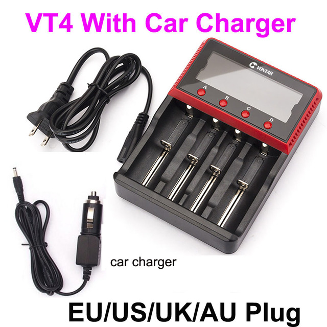 VT4 with car charger