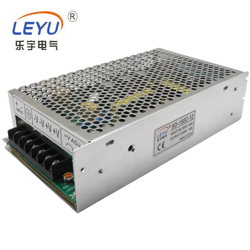 цена на SD-150D DC DC Frequency Converter High Voltage 72V 144V to 12V 24V Converter 12.5A 6.3A