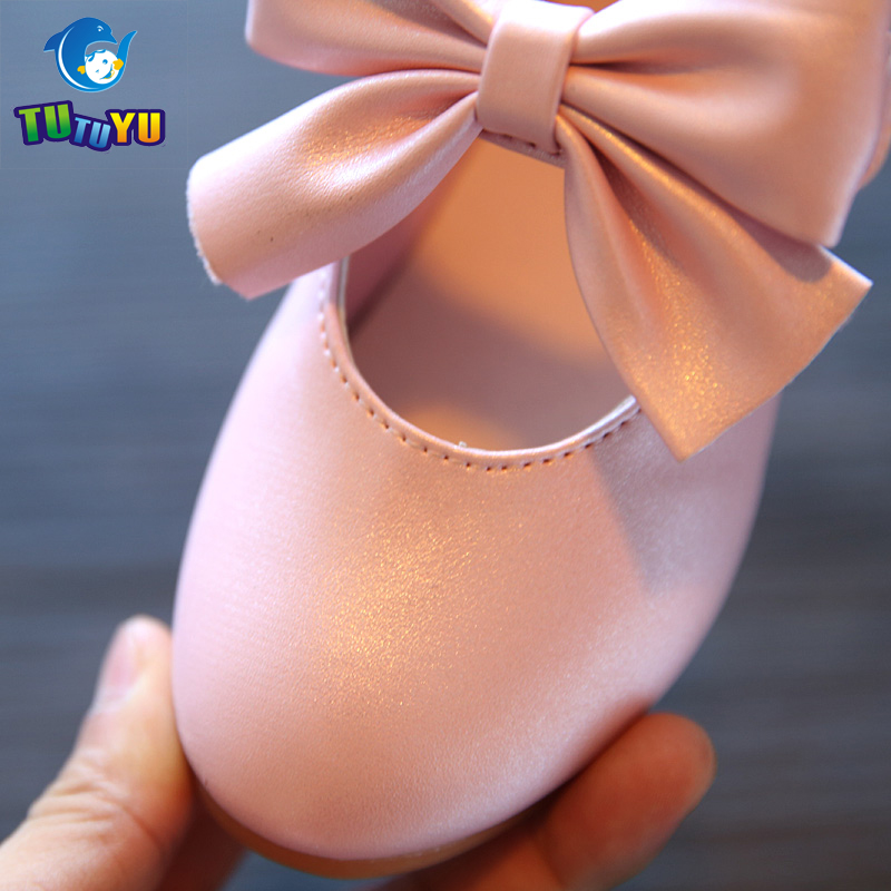 TUTUYU Girls Children Shoes Girls Princess PU Leather Shoes Girls Sandals Kids Single Shoes for Girls Wedding 628