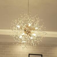 vanity acrylic decoration Bulb led fancy lamp modern style bedroom fitting pendant light living room
