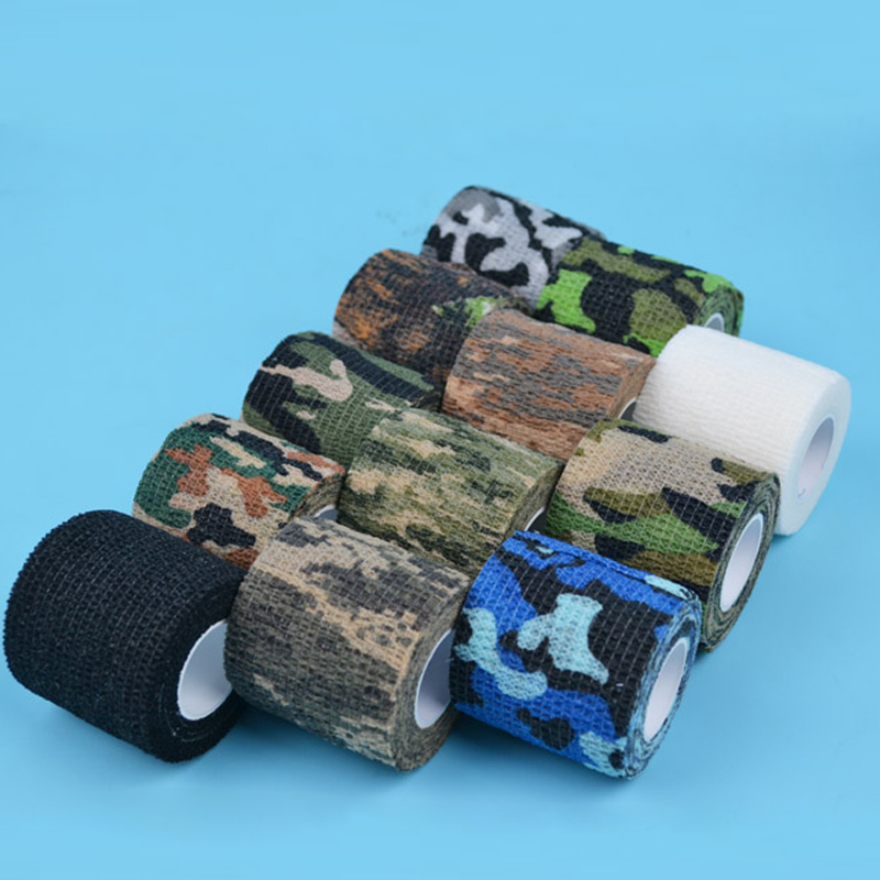 Image 2 - Tactical hunting 5cmx4.5m Camo Outdoor Shooting Tool Camouflage Stealth Tape Waterproof Wrap Durable-in Blind & Tree Stand from Sports & Entertainment