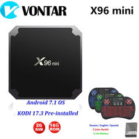 VONTAR X96 Mini Android 7 1 TV BOX 2GB16GB 1GB8GB Amlogic S905W Quad Core Suppot H