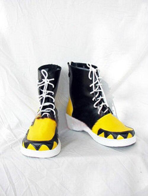 Аниме Soul Eater Эванс кожа косплей костюм обувь настроить любой размер 01