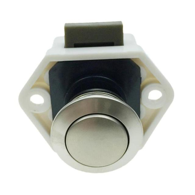 US $2 15 16% OFF|Camper Car Push Lock Button Lock Latch Knob RV Caravan  Boat Motor Home Cabinet Drawer Latches Button Lock for Furniture  Hardware-in