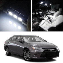 Canbus LED Lamp Interior Map Dome Trunk Plate Light Bulbs For Toyota Camry 2013-2019 недорго, оригинальная цена