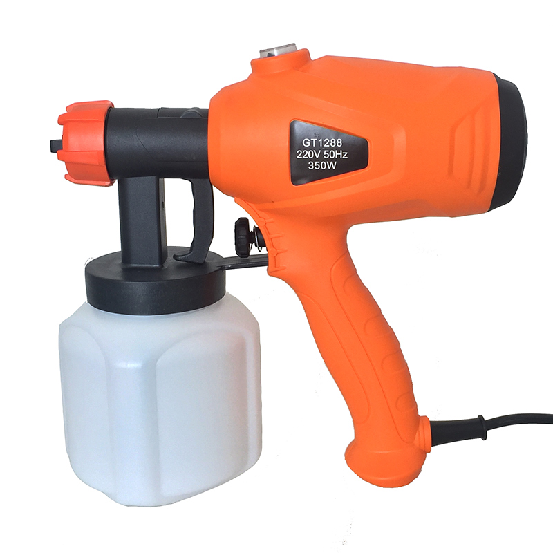 где купить Electric Spray Gun Latex Paint Airbrush Paint Spray Gun Paint Painting Tools High Atomization 2.5mm дешево