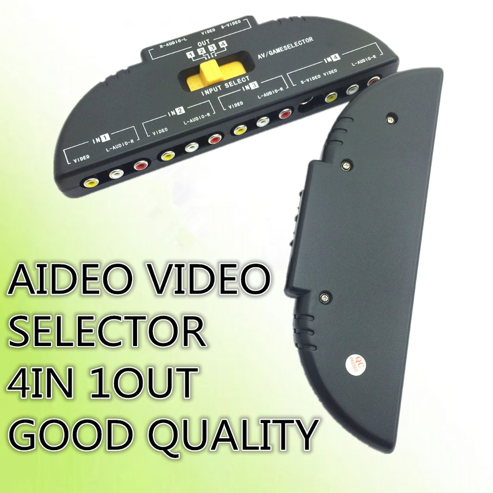 Popular Audio Selector SwitchBuy Cheap Audio Selector Switch Lots - 4 way toslink switch box