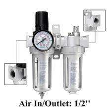 SFC400 регулятор сепаратора воды масла ручной пневматический компрессор давления указатель фильтра ловушка для компрессора Краскораспылитель