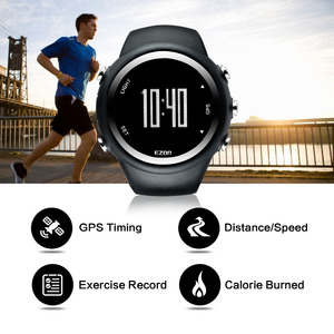 Image 5 - EZON T031 GPS Running Sport Watch Distance Speed Calories Monitor GPS Timing Men Sports Watch 50M Waterproof Digital Watch