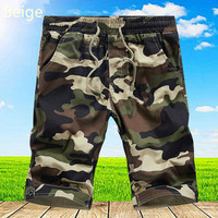 2017 New Summer Mens Pure Cotton Fashion Casual Shorts Male Youth Popular Shorts Comfortable Brands Camouflage
