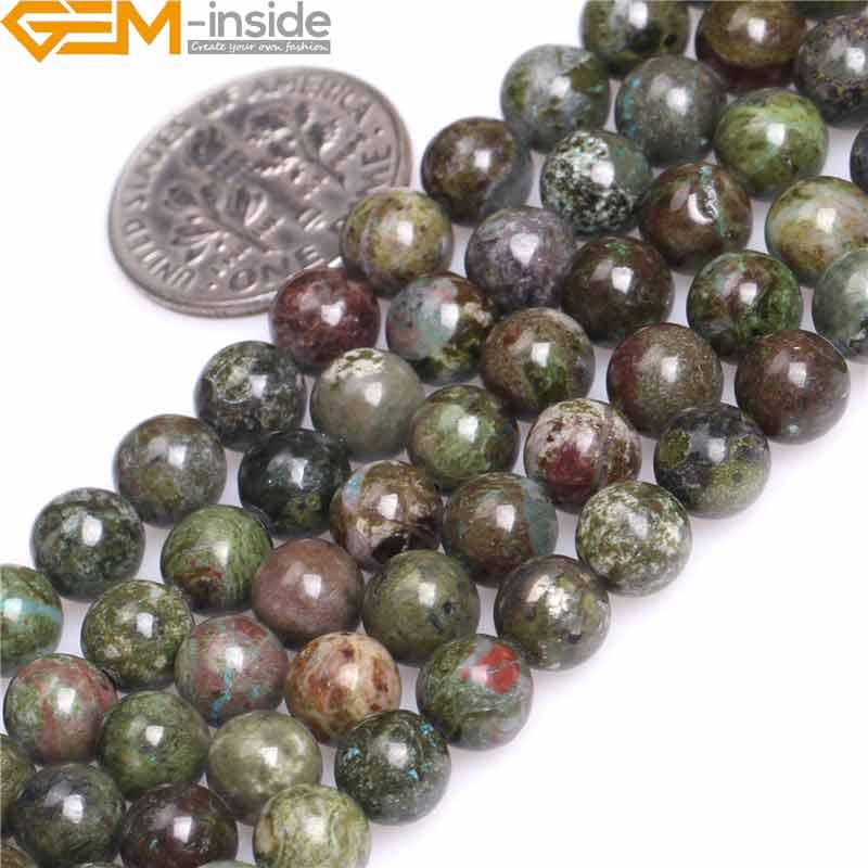 Grade A Natural Lemon Jasper Semi-precious Gemstone Round Beads 4mm 6mm 8mm 10mm