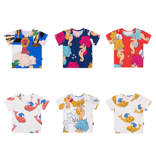 Cotton cartoon clothing for girls