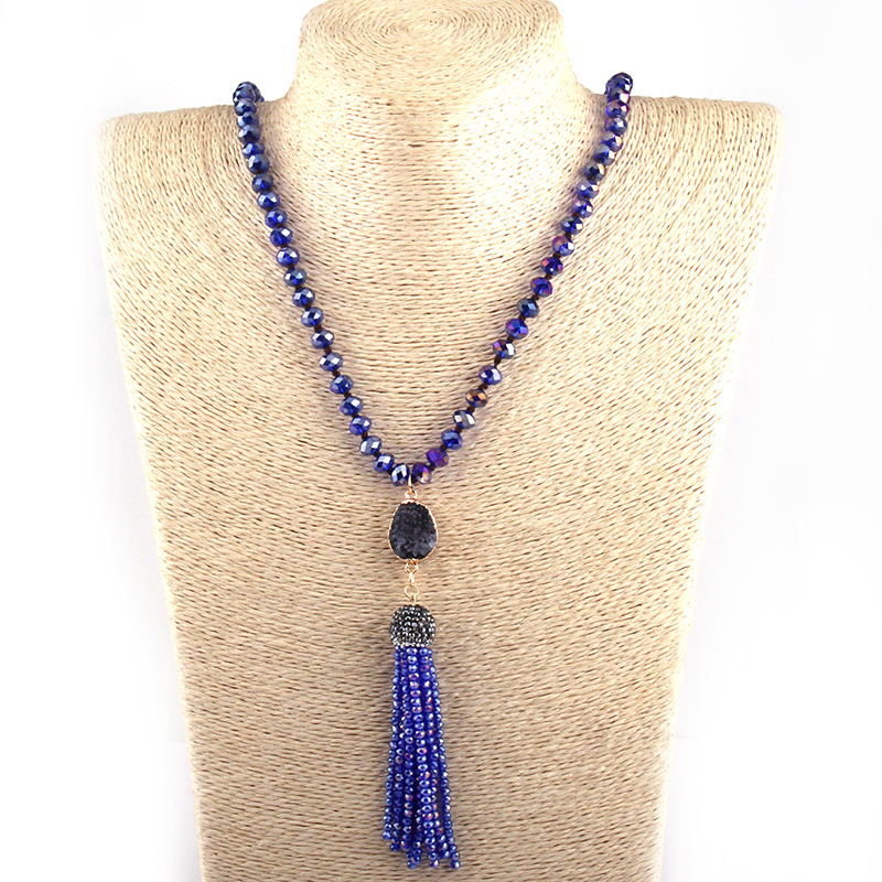 beaded tassel necklace wholesale