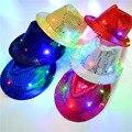 LED lights sequins jazz hat hip-hop night stage performances cap