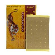 Тигровый китайский пластырь для снятия боли в спине, диагностический пластырь, медицинский пластырь для массажа тела, макияж, 8 шт