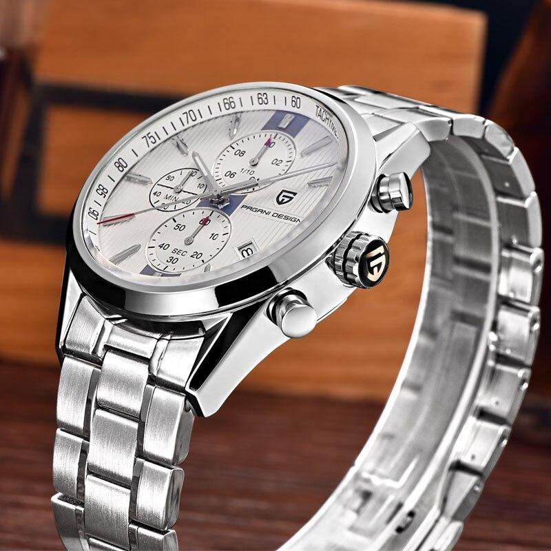 все цены на top Men Fashion Classic Top Brand Quartz Watch Multifunction Sport Military Watches Men Relogio masculino Pagani Design Dive 30M онлайн