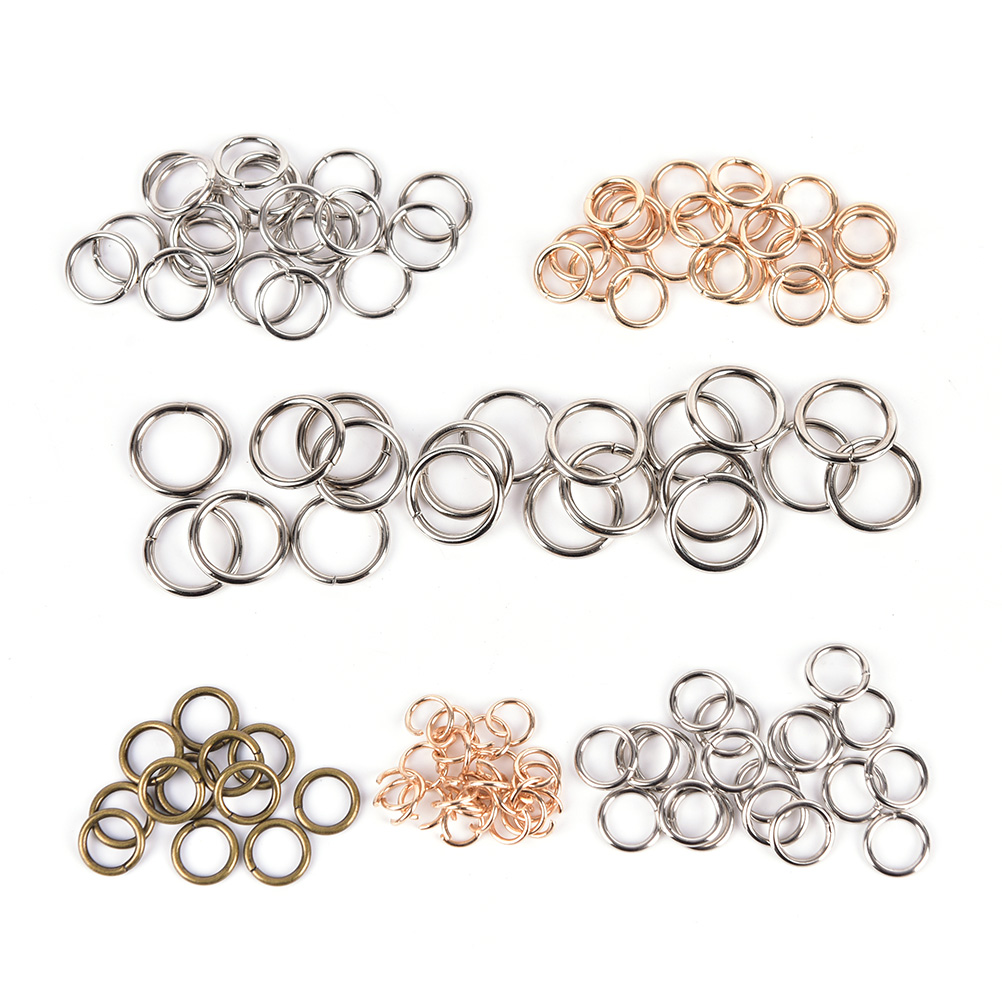 03af5570a0e2 20Pcs lot DIY Rings Hook Chain for Bag Quickdraw Key Metal Bag Accessories  Wholesale