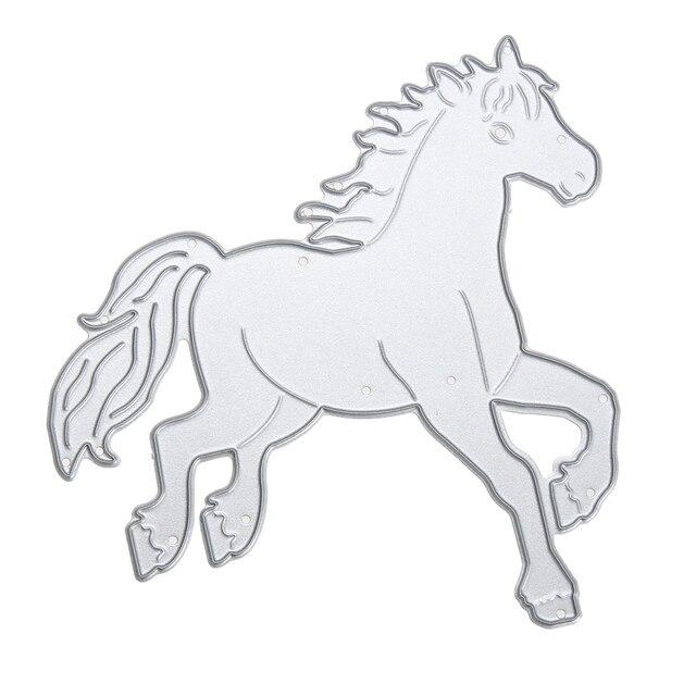 Pferd Metall Stanzformen Schablone DIY Scrapbook Album Foto ...