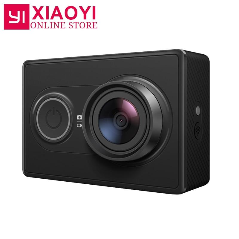 [Edição internacional] Original Xiaomi YI Sports Camera 16MP Xiaoyi WiFi 3D Redução De Ruído 60FPS Ambarella Câmera de Ação