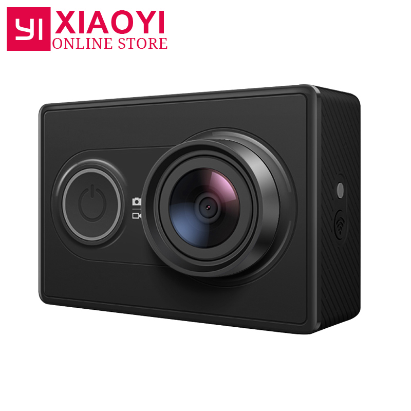 [International Edition] Original Xiaomi YI Sport Kamera Xiaoyi WiFi 3D Rauschunterdrückung 16MP 60FPS Ambarella Action-kamera